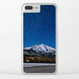 Mt Sopris Clear iPhone Case