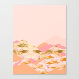 Graphic Mountains S Canvas Print