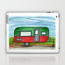 Watermelon Camper Trailer Laptop & iPad Skin