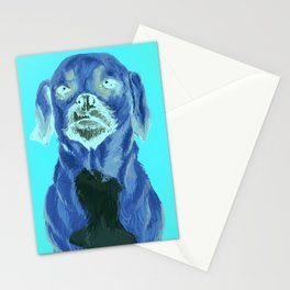 snaggle tooth Stationery Cards