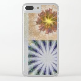 Benching Constitution Flowers  ID:16165-063617-72980 Clear iPhone Case