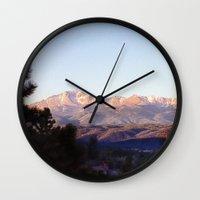 colorado Wall Clocks featuring Colorado by wendygray