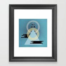Born to Explore Pt3 Framed Art Print