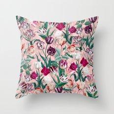 Summer Botanical Garden XIV Throw Pillow