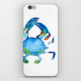 Blue Claw Crab - Nautical - Summer - Ocean - Sea Life iPhone Skin