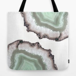 Light Water Agate Tote Bag