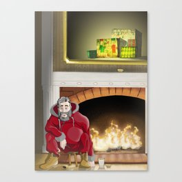 No.5 Christmas Series 1 - The Late Years Canvas Print