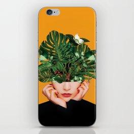 Lady Flowers || iPhone Skin