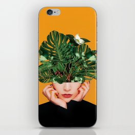 Lady Flowers || iPhone Skin