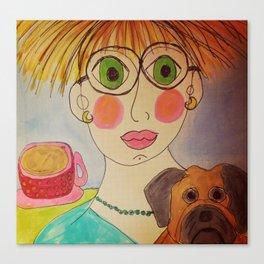"""Tallulah's World"" Canvas Print"
