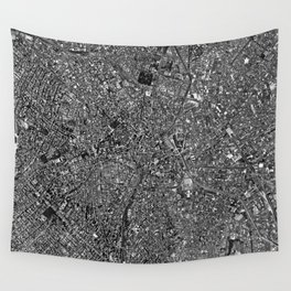Sao Paulo from above Wall Tapestry