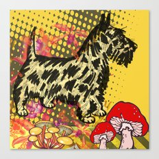 Scottish pop art Canvas Print