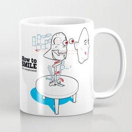 How to Smile Coffee Mug