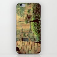 haunted mansion iPhone & iPod Skins featuring Haunted Mansion by Lea Bostwick