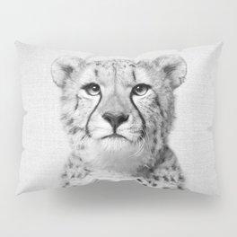 Cheetah - Black & White Pillow Sham