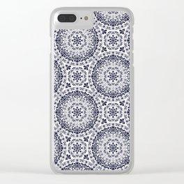Zara in Blue Clear iPhone Case
