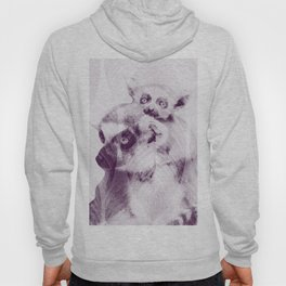 Happy Mother's Day - Lemur - maki catta Hoody