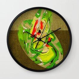 Haiku series number 3 Wall Clock
