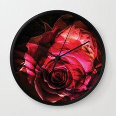 Rose colors fashion Jacob's Paris Wall Clock