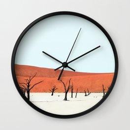 Deadvlei XIII Wall Clock