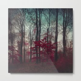a.maze - enchanted forest Metal Print