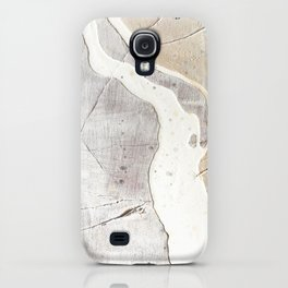 Feels: a neutral, textured, abstract piece in whites by Alyssa Hamilton Art iPhone Case