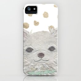 CHIHUAHUA, Long Haired Chihuahua, Dog iPhone Case