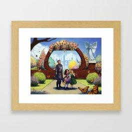 In The Gardens Framed Art Print