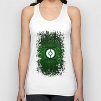 green lantern Tank Tops featuring Green Lantern by Some_Designs