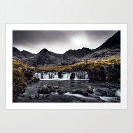 Fairy Pools - Isle Of Skye Art Print