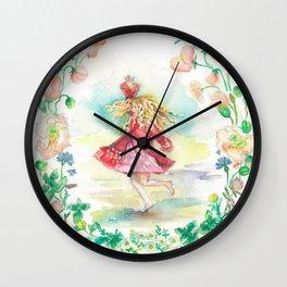 Dancing Girl Wall Clock