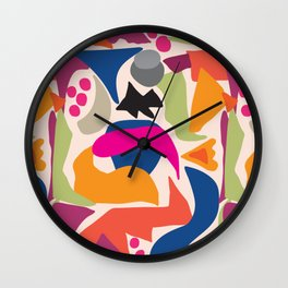 Black Fish Wall Clock