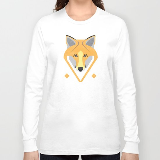 Night Fox Long Sleeve T-shirt