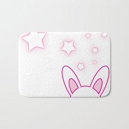 Bunny Love Bath Mat