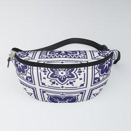 Talavera Mexican Tile – Porcelain Palette Fanny Pack