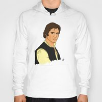 han solo Hoodies featuring Han Solo by Bleachydrew