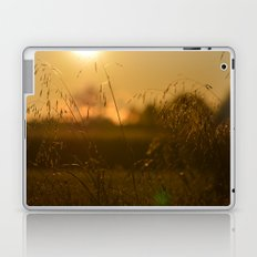 Delicate Grasses and Dew Laptop & iPad Skin