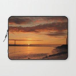 Humber Bridge Sunrise Laptop Sleeve