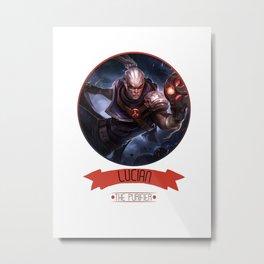 League Of Legends - Lucian Metal Print