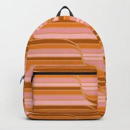 Geo Stripes - Butterscotch Backpack
