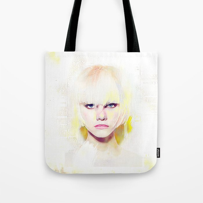 The girl who refuses the fear Tote Bag