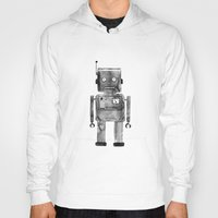 robot Hoodies featuring Robot by Alma Charry