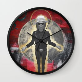Saint LeRoy of the Sacred Faceless Avatar Wall Clock