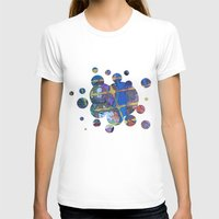 grid T-shirts featuring Grid by Heather Plewes Art