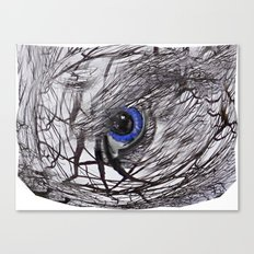 Eye on the Ball Canvas Print