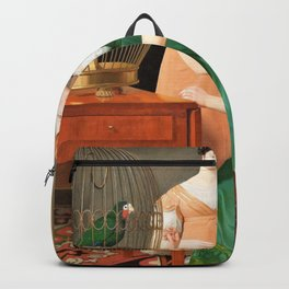 Christoffer Wilhelm Eckersberg - Bella and Hanna. The Eldest Daughters of M.L. Nathanson Backpack