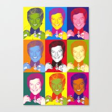 Liberace 9 Times, Che Guevara-style Canvas Print
