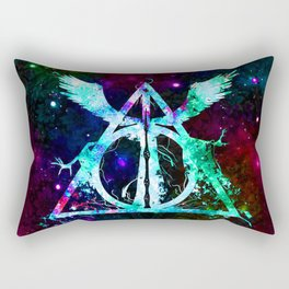 Art Of Triangle Swing Rectangular Pillow