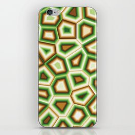 Hypnose verte iPhone Skin