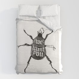 We want you Duvet Cover